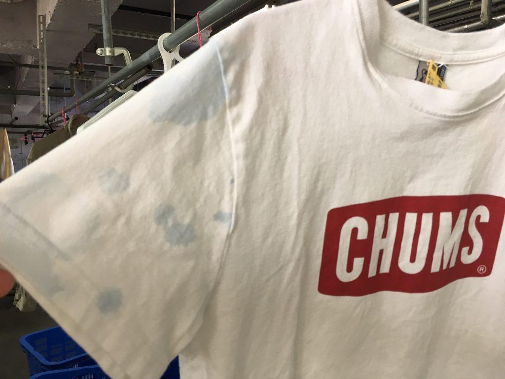 Tシャツ色落ち